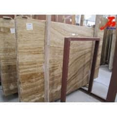 Chinese Marble Wooden Yellow