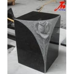 Shanxi Black Granite Urn with